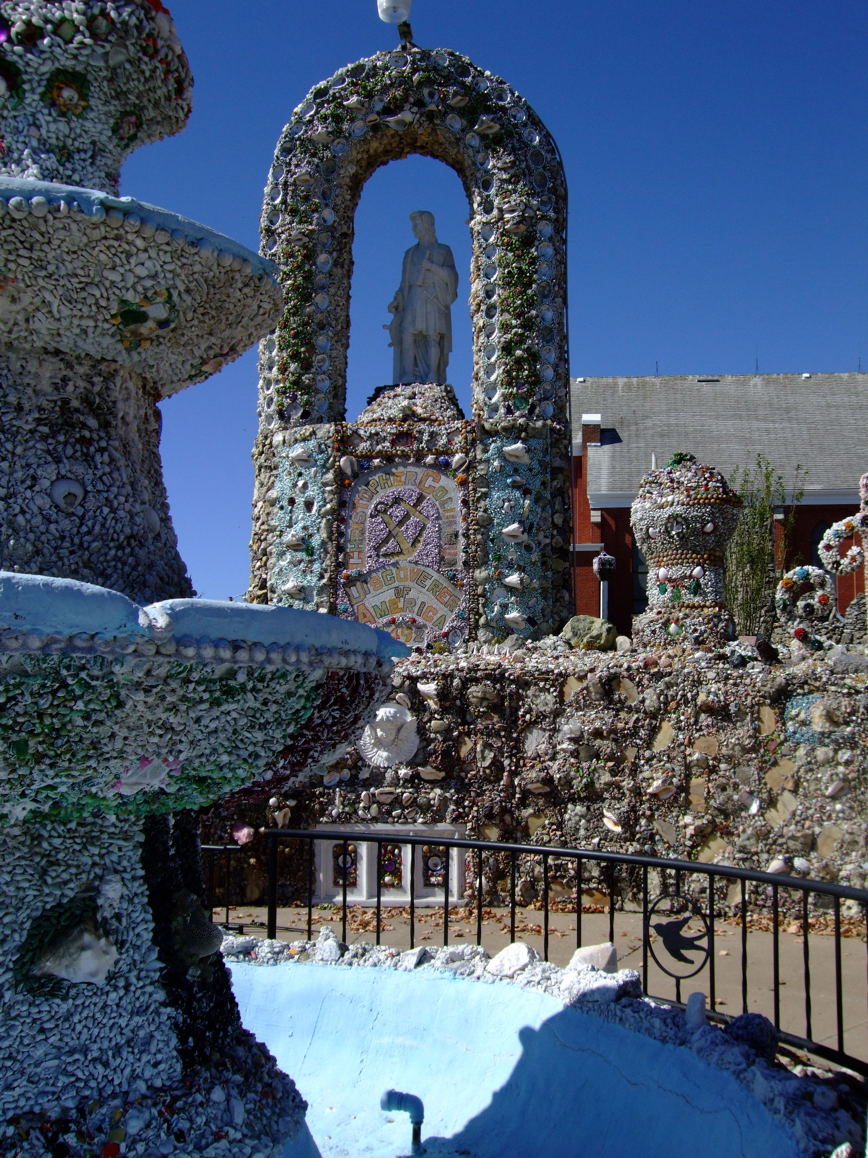 Pin By Hdi 19 On Southwest House With Images: Dickeyville Grotto, Rural Wisconsin