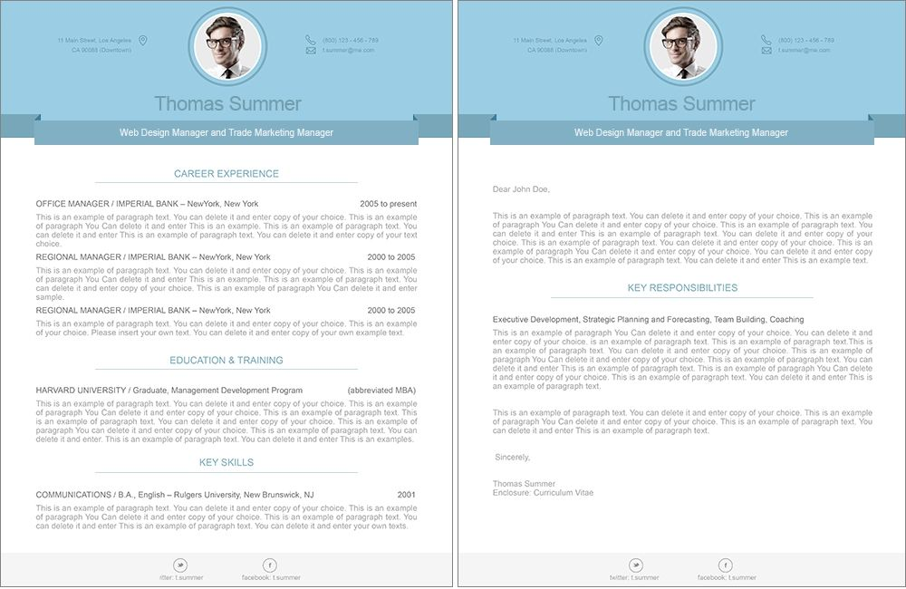Resume   CV template and cover letter inspiration I find the