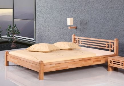 Bett Thale Kernbuche - Massivholzbetten - Betten - SCHLAFZIMMER - schlafzimmer kiefer massiv