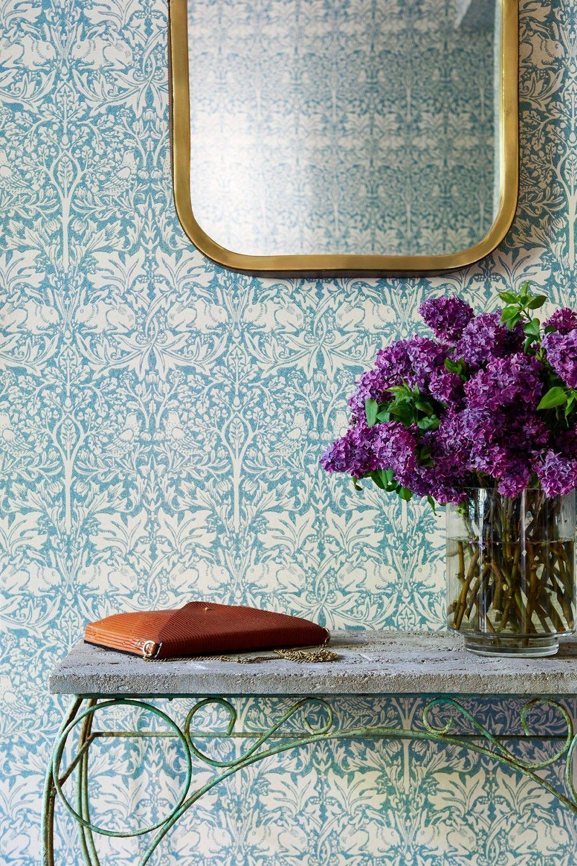 Hallway wallpaper or paint  Portfolio  cjisrad Flowers  Pinterest  Commercial interiors
