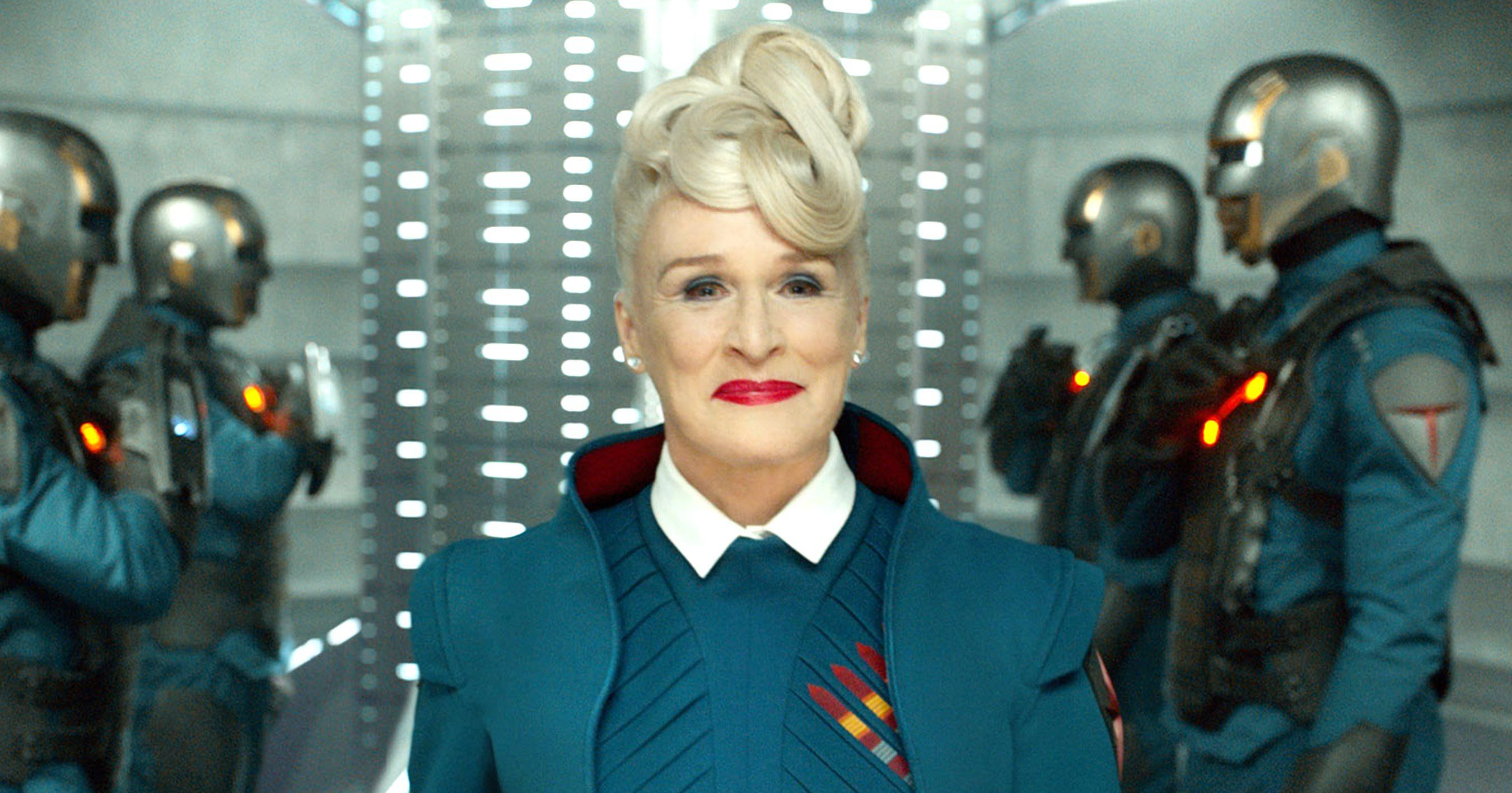 Guardians Of The Galaxy Actress Glenn Close Says Its Hard To Think Of Franchise Without James Gunn Actresses James Gunn Guardians Of The Galaxy