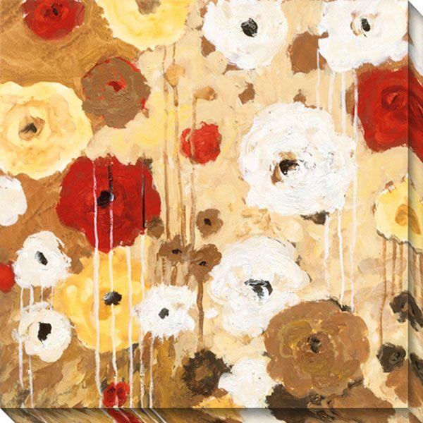 Gallery Direct Jaquiel 'Flower Dance II' Wrapped Art