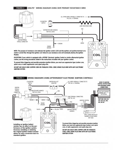 Mallory Ignition Coil Wiring Diagram | Diagram | Diagram, Ignition on