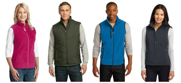 Popular Port Authority Vest for Women and Men from NYFifth