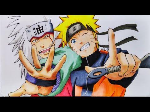 Como Dibujar A Naruto Y Jiraiya Artemaster How To Draw Naruto And Jiraiya Youtube Como Dibujar A Naruto Naruto Para Dibujar Dibujos De Kakashi