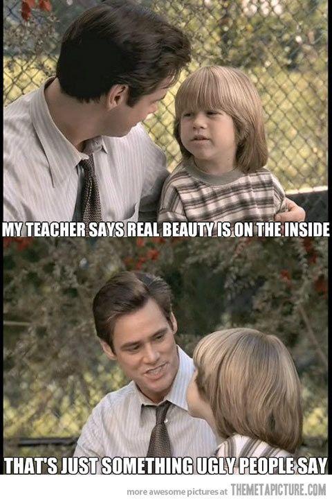 Jim Carrey speaks the truth…