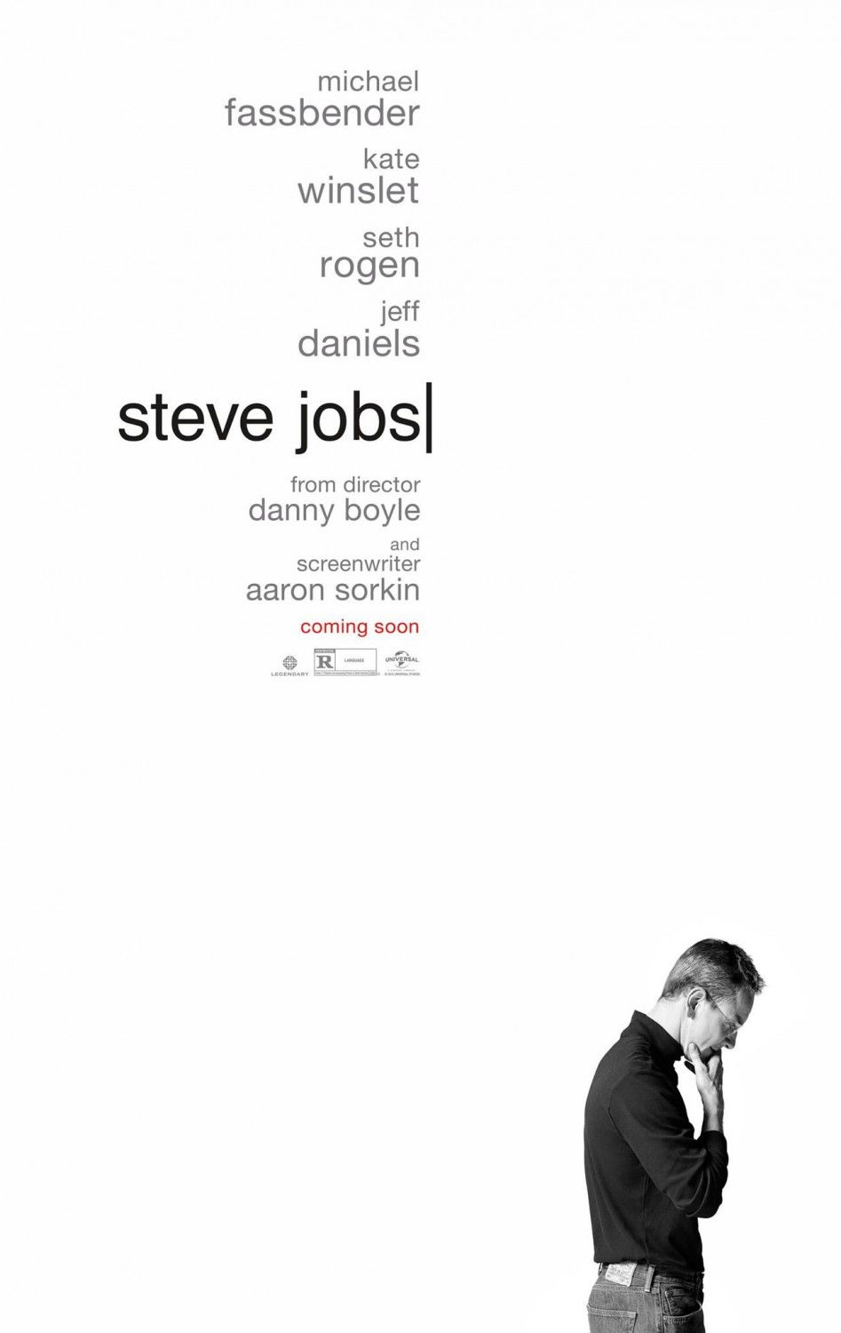 Michael Fassbender No Poster Do Filme Steve Jobs Steve Jobs