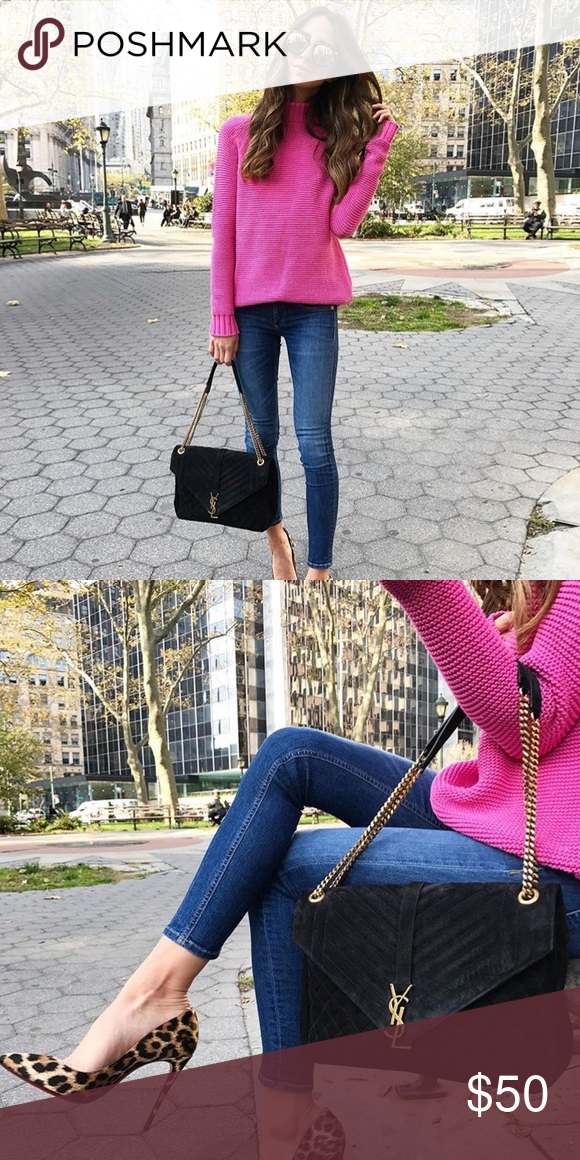c98da46d7e2 Mock Neck Zara Pink Sweater Pink sweater as seen on Arielle Charnas from  Something Navy. Great condition. Zara Sweaters Cowl   Turtlenecks