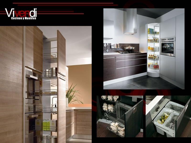 Cocinas y muebles vivendi dise o de cocinas decoraci n for Muebles minimalistas