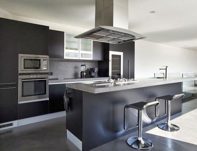 cocina moderna galería de fotos | Diseño de interiores | Kitchen ...