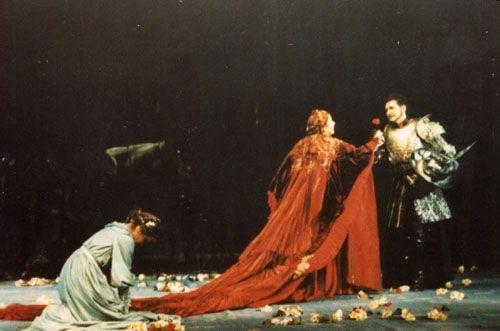 Mara Zampieri - Lyric Soprano. Francisca da Rimini with E. Filipova and Mario Muraro