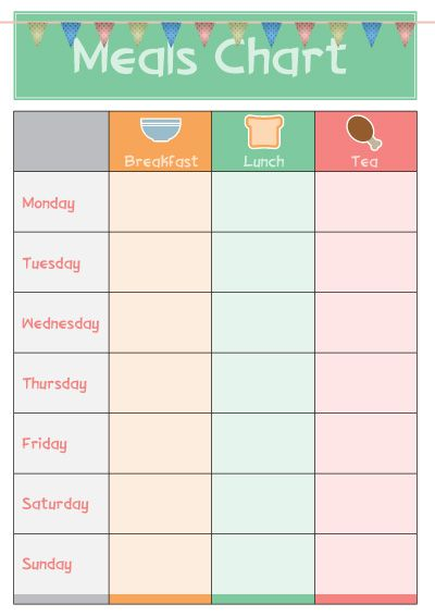 Princess Meal Sticker Chart Really Did The Job For Our Little One
