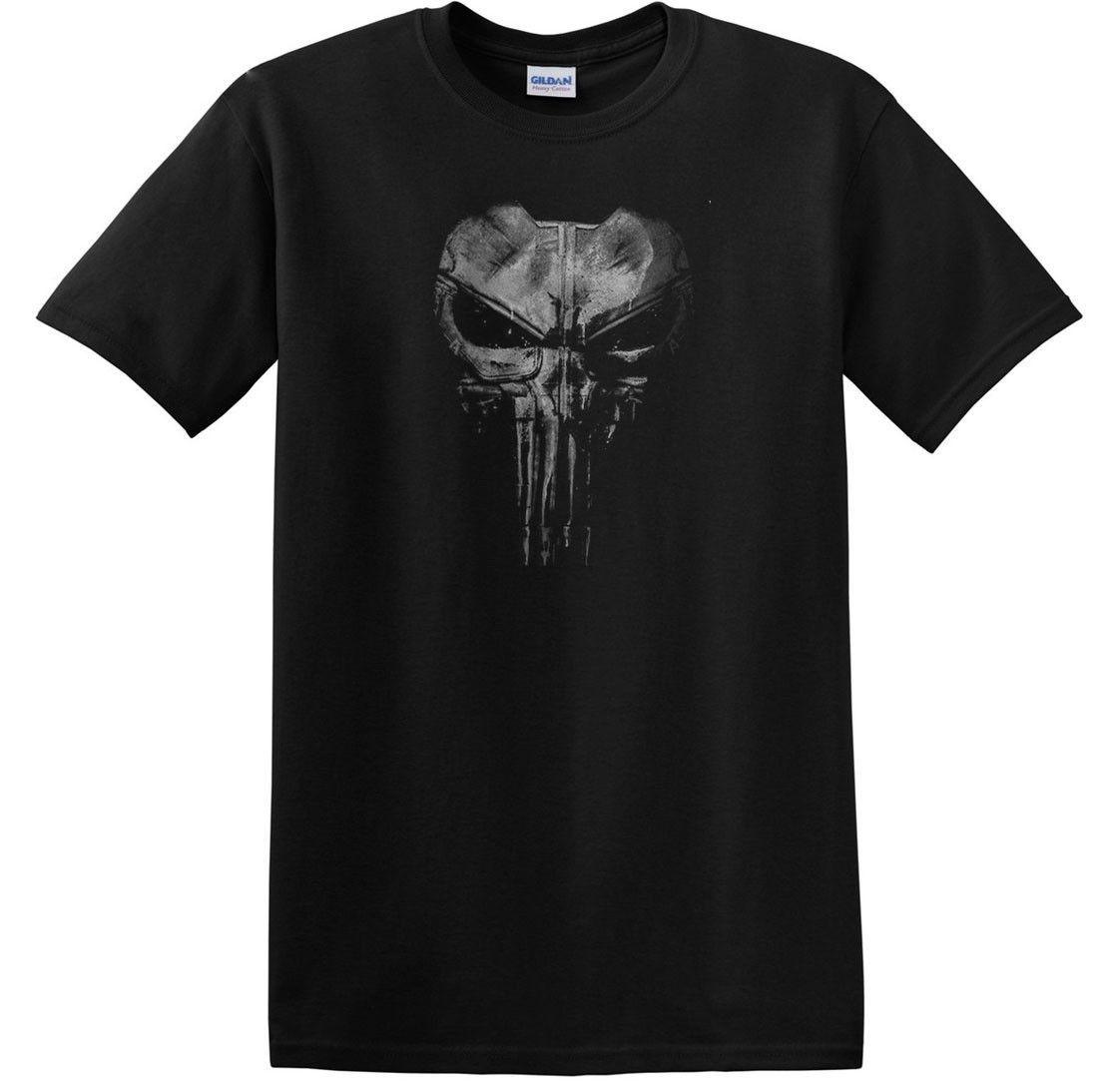 Pigiama Scuro Uomini Temerari The Punisher Cranio Di mywUc