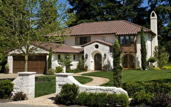 Santa Barbara Style House In Seattle For Sale Exterior