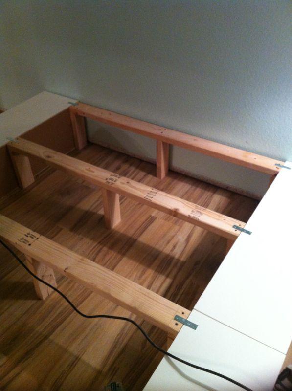 Img 1734 Crafts Ikea Bed Diy Storage Bed Ikea Bed Hack