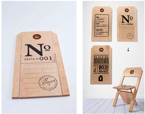 Para Diseño Plegable Silla Con EtiquetaObjetos Colgar De Bien IYfb6y7gv