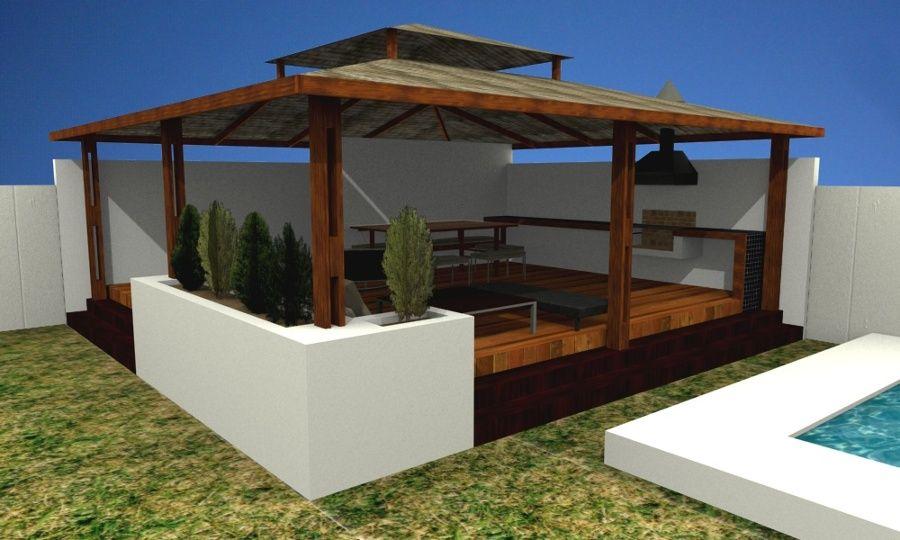 Ideas para decorar tu hogar en habitissimo propios for Choza de jardin de madera techo plano