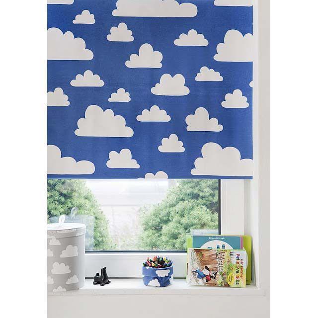 Blackout   Clouds Blue. Blackout BlindsBlackout ShadesKid  BedroomsKidsroomRollersNursery ...