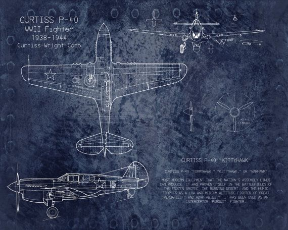 Curtiss p40 wwii airplane blueprint art 8 x 10 by scarletblvd curtiss p40 wwii airplane blueprint art 8 x 10 by scarletblvd 2500 malvernweather Choice Image