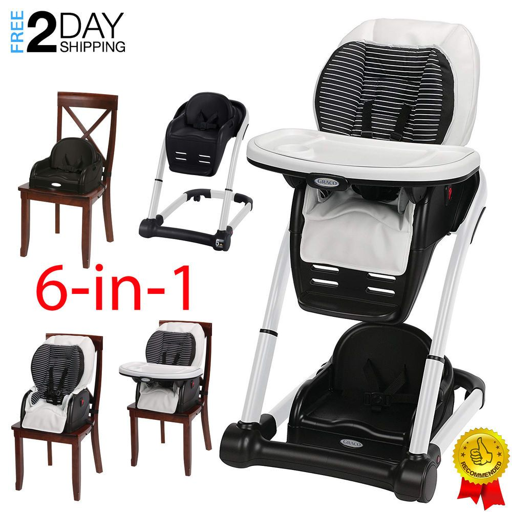 Graco Blossom 6 In 1 Convertible High Chair Seating System Studio