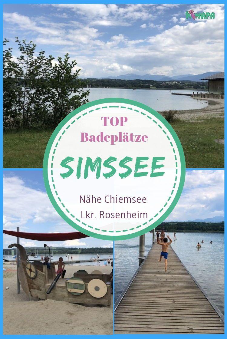 Badeplatze Am Simssee Chiemsee Urlaub Familienausfluge Und Urlaub