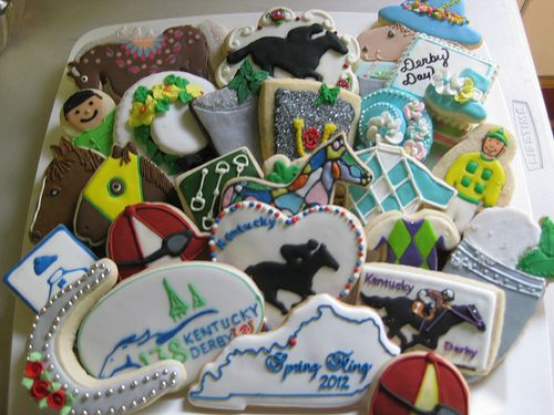 Kentucky Derby (Decorated Cookies)