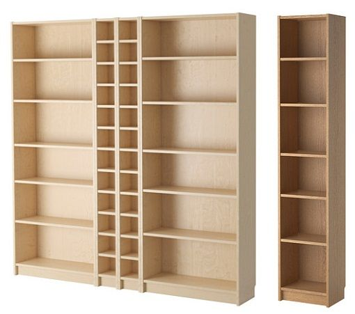 Billy ikea arxivar pinterest ikea librer as y estanter a ikea - Ikea puertas para estanterias ...