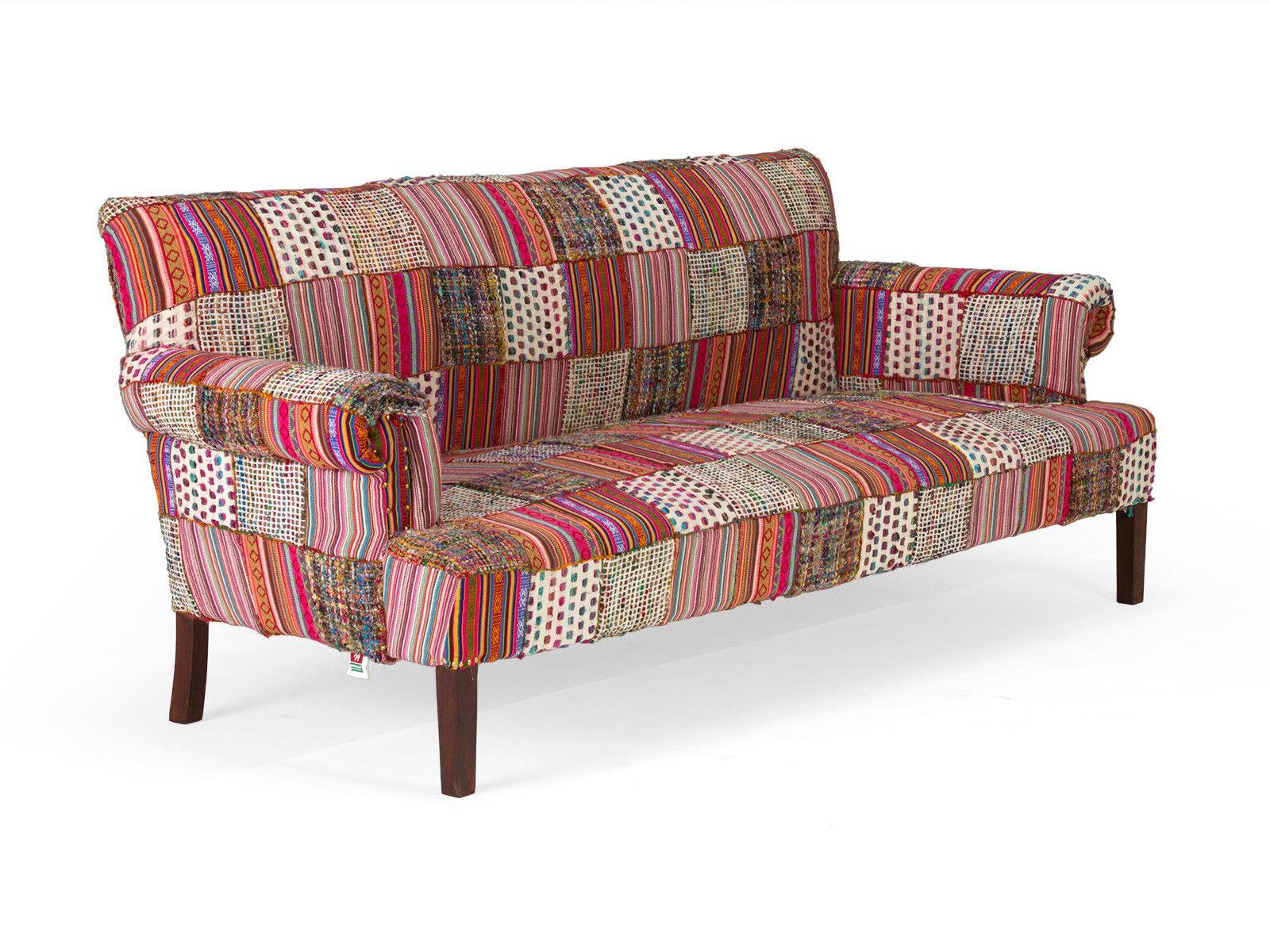 Patchwork Sofa Florese 3 Sitzer Von Massivum De 3 Sitzer Sofa