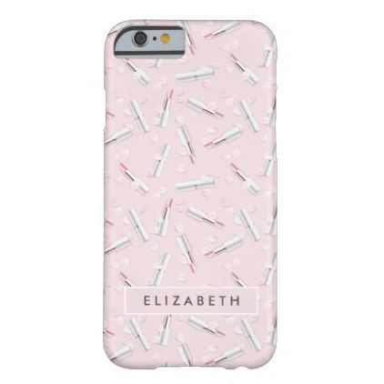 #flower - #Pink Pastel Petals & Perfume Pattern Barely There iPhone 6 Case