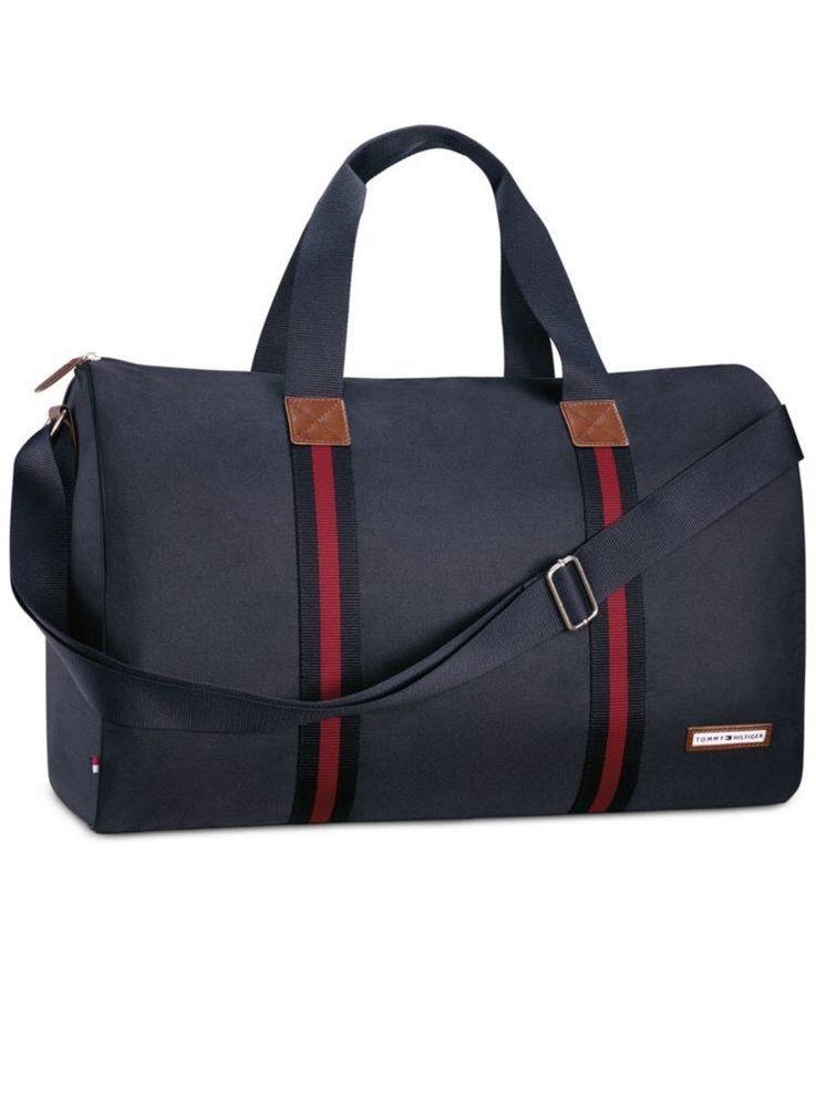 Tommy Hilfiger Sac de sport, sac de voyage, Large Duffle Bag