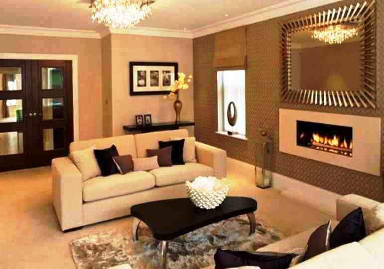 Warna Cat Dinding Ruang Tamu Elegan Paint Colors For