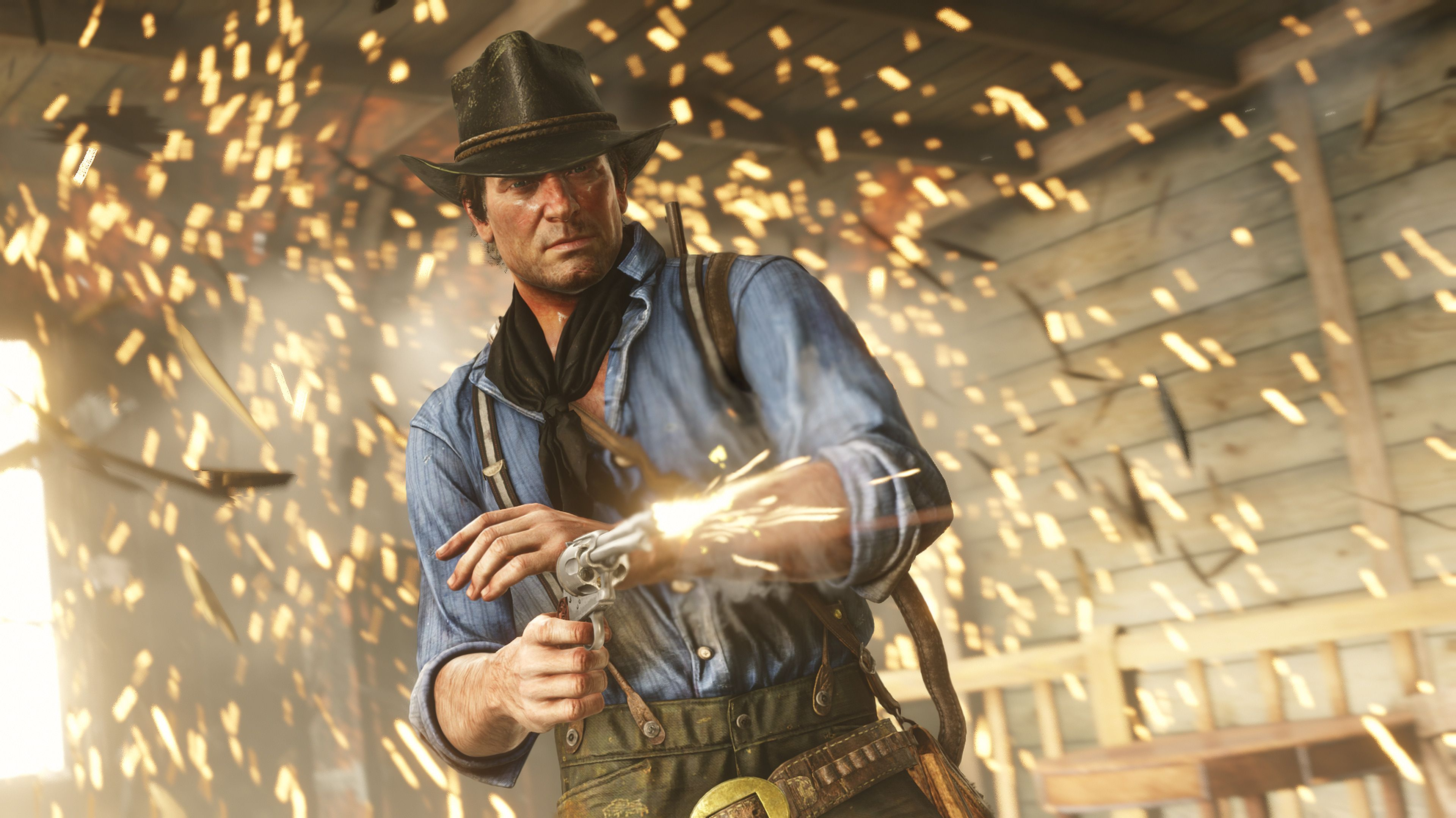 Red Dead Redemption 2 Arthur Morgan вестерн видеокарта интересные факты