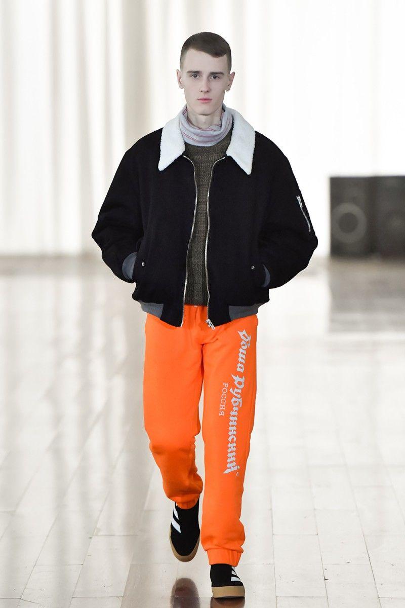 Gosha Rubchinskiy Riffs On Football Culture At Fw17 Show In Russia Highsnobiety Menswear Football Fashion Streetwear Outfit