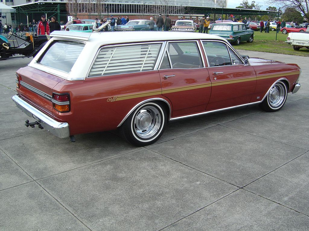 1971 Falcon Xy Wagon Custom Muscle Cars Vintage Muscle Cars Australian Muscle Cars
