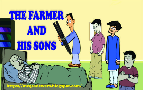 THE FARMER AND HIS SONS Moral stories, Kids stories online