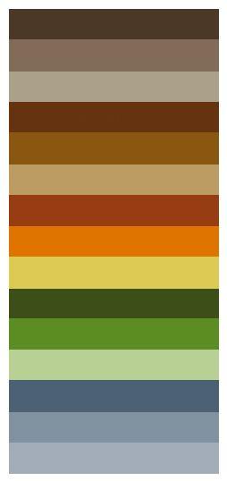 Paleta Tonos Tierra Colores Fachadas De Casas Colores Tierra Decoracion De Cuartos Matrimoniales