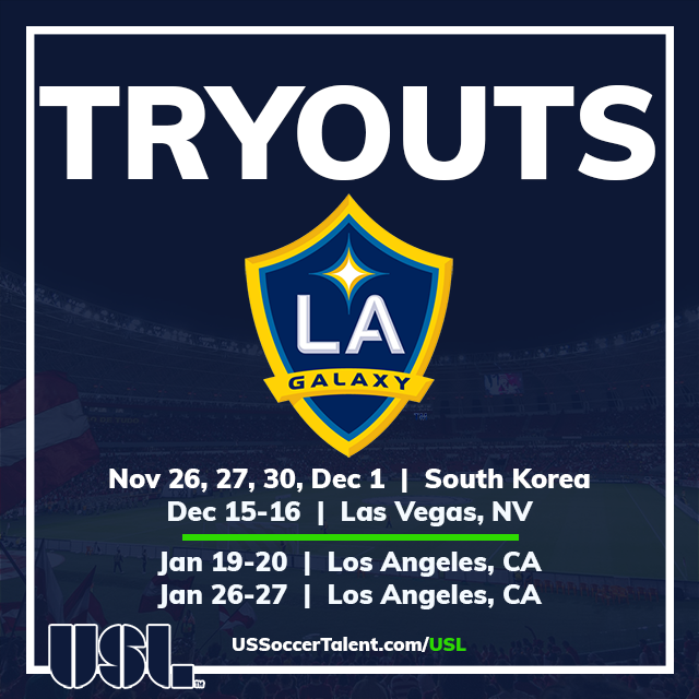 La Galaxy 2019 Open Tryouts Usl La Ca Soccer Futbol La Galaxy Us Soccer Soccer Talent