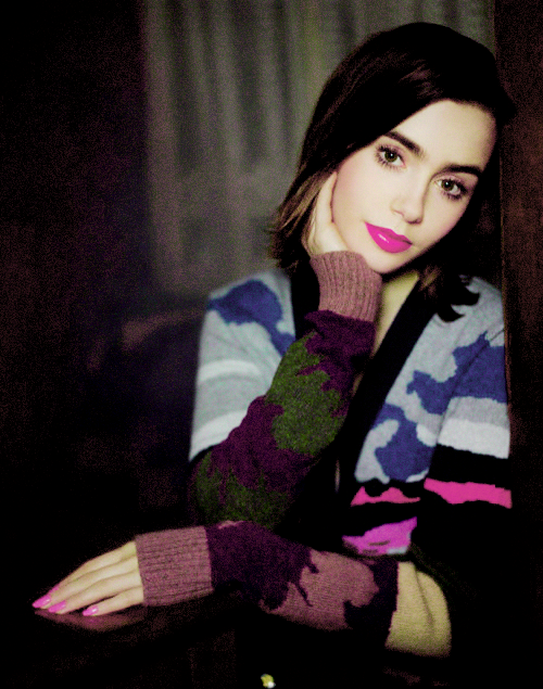 Lily Collins For Barrie Knitwear Collection | Лили коллинз ...