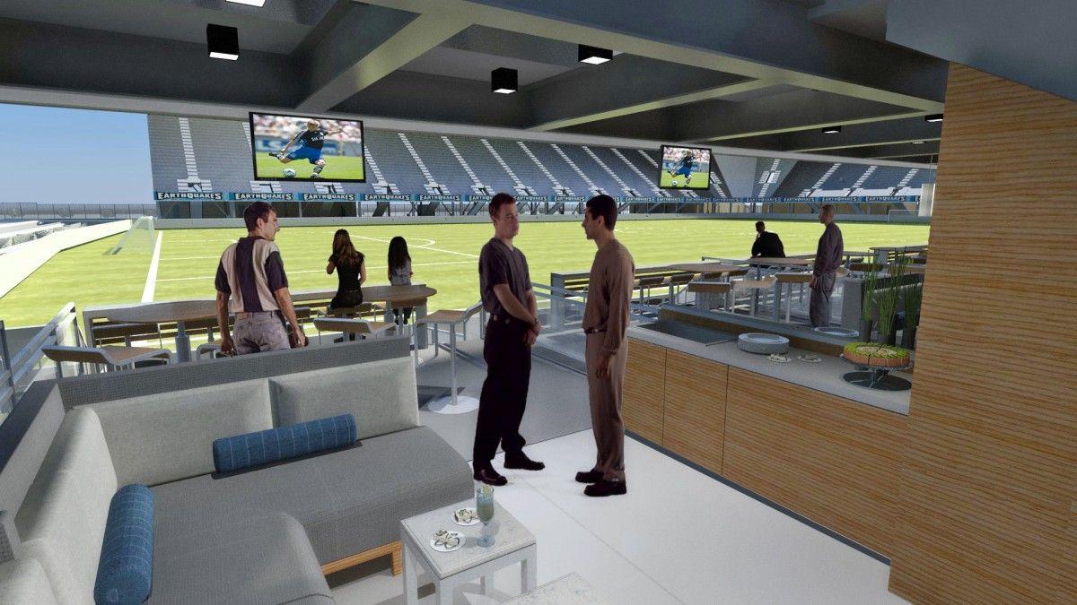 New Stadium Patio Suites San Jose Earthquakes Stadium