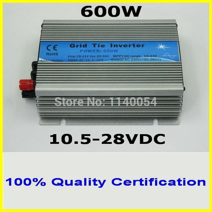600w 10 5 28vdc Mppt Solar Grid Tie Micro Inverter For 4pcs 150w 18v Pv Solar Panels 120vac Or 230vac Pure Sine Wave Outp Solar Pv Panel Solar Pv Solar Panels