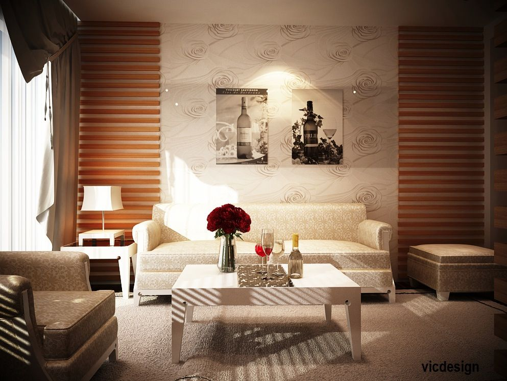 Interior Wood Wall Living Room Http://www.woodesigner.net Provides Great