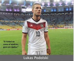 Frases absurdas en el mundo del fútbol - Podolski