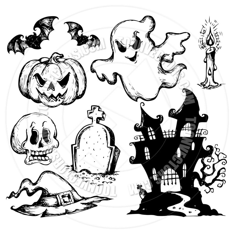 Pin by Ofri Peretz on drawings Halloween drawings, Mini