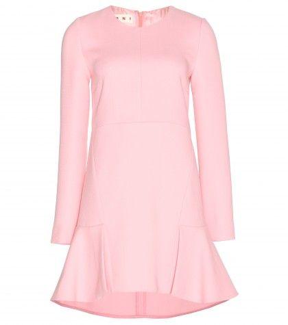 #marni - wool crepe dress