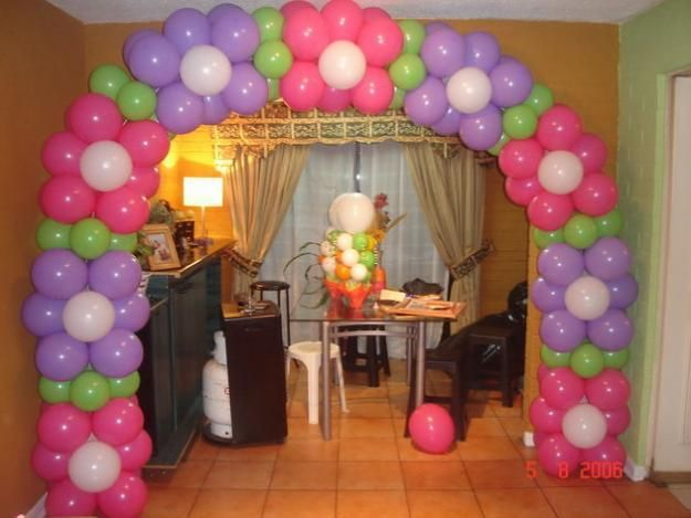 Decoracion de globos fiestas infantiles y baby shower - Decoracion party ...