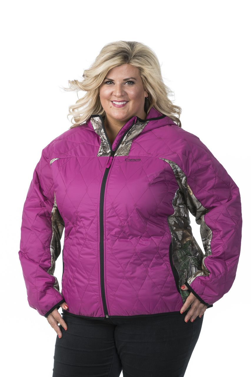 b574701aa5e19 Made in a chic and stylish shade of pink, this women's fleece hunting jacket  Is ideal for outdoors! Shop our stylish gear online today at DSG Outerwear.