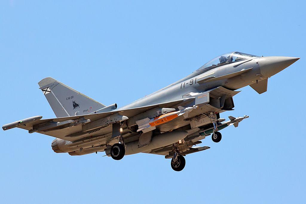 Spanish Eurofighter Typhoon Aviones De Combate Aviones Ejercito Del Aire