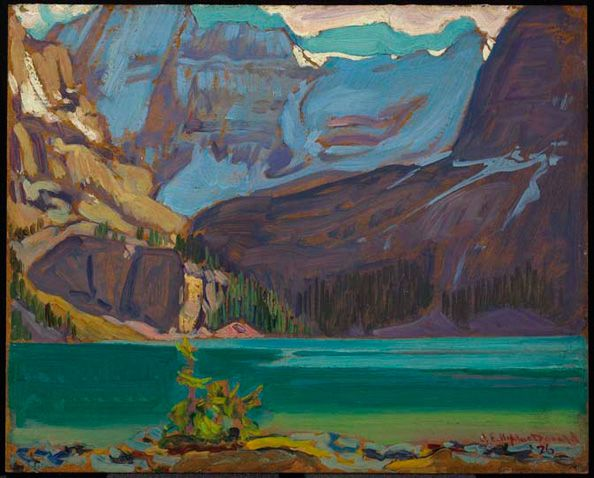 J.E.H. MacDonald - Lake O'Hara, Rockies