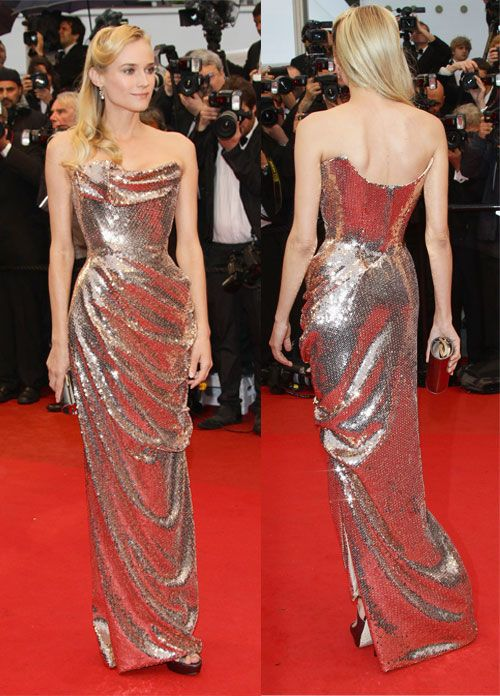 Diane Kruger looking gorgeous in Vivienne Westwood