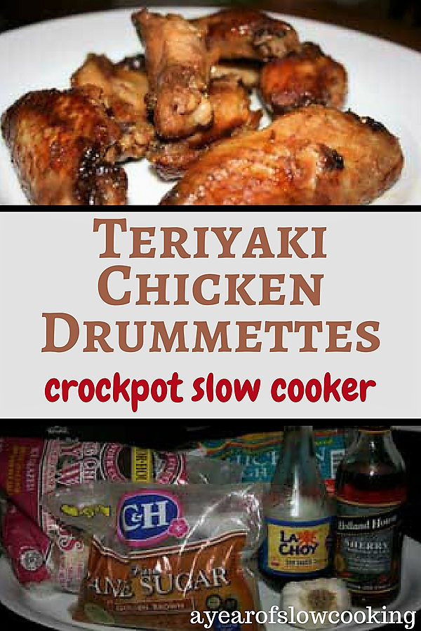 Crockpot Chicken Teriyaki Recipe